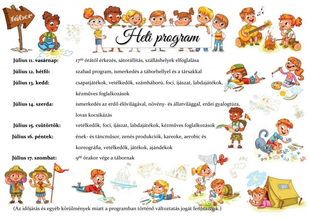 Heti program
